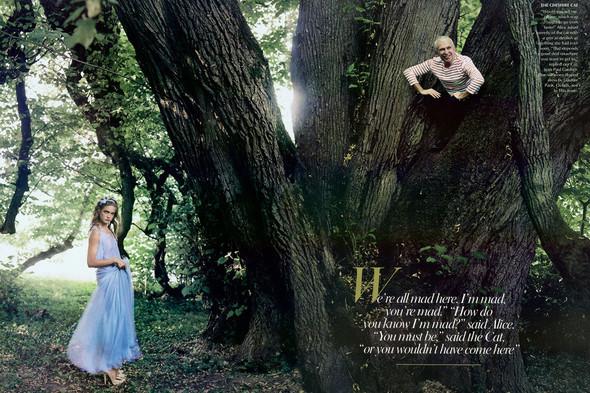 Архивная съемка: Наталья Водянова для американского Vogue 2003. Изображение № 9.