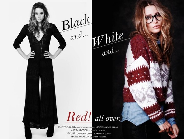 Коллекция: Free People 'Black & White'. Изображение № 1.