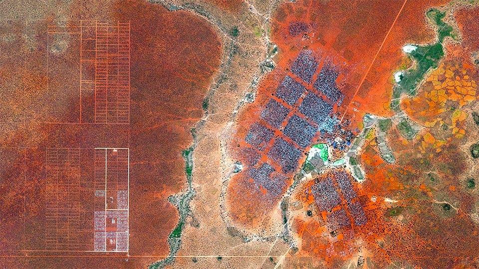 Снимки из космоса, напоминающие о хрупкости природы. Изображение № 20.