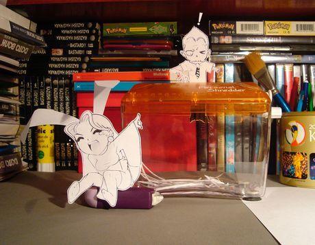 Фотоработы аниме избумаги. Изображение № 19.