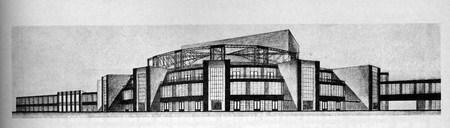 Архитектурные конкурсы 1923–1926 г.вСССР. Изображение № 8.
