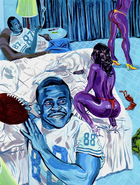 Бруклинские краски Джеймса Благдена. Изображение № 9.