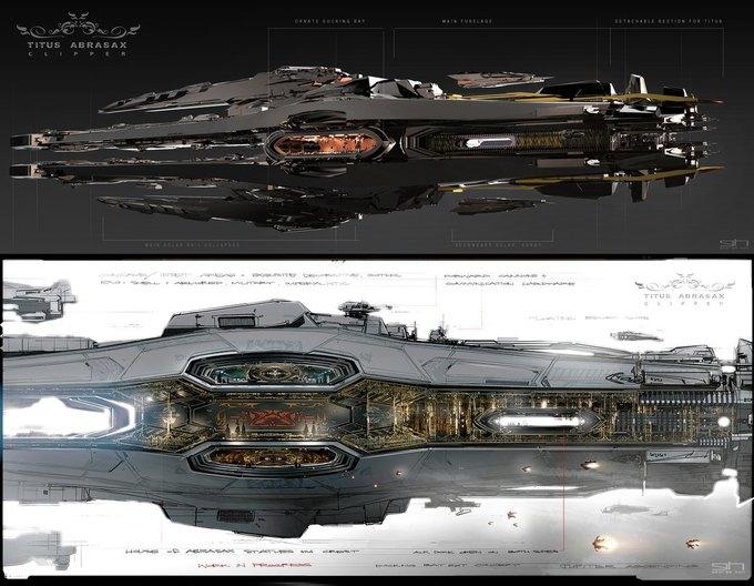 Художник «Восхождения Юпитер» выложил концепты к фильму. Изображение № 15.