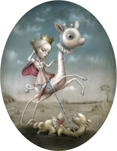 Nicoletta Cecolli [не]детские иллюстрации изИталии. Изображение № 2.