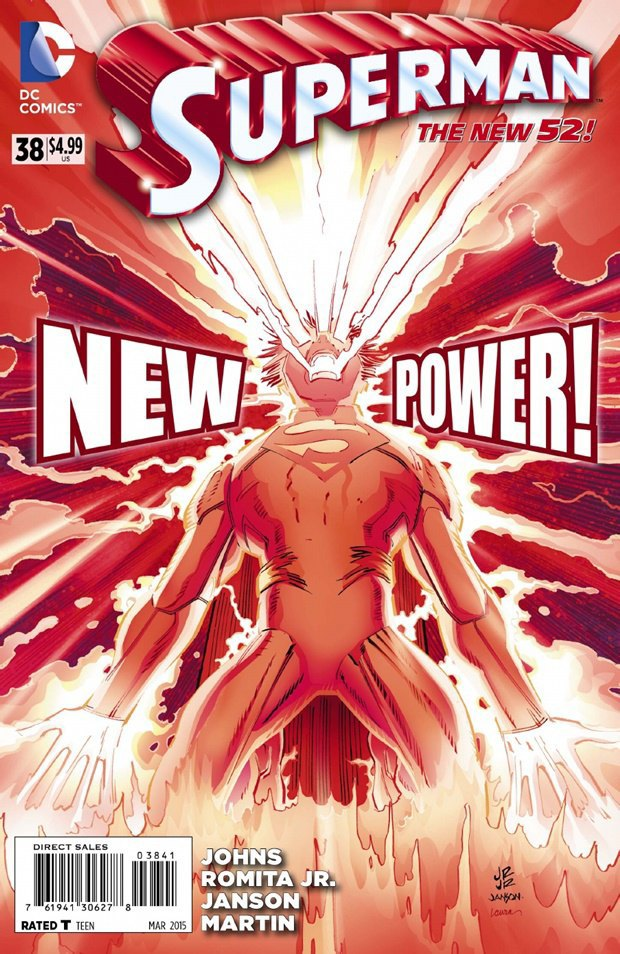 Супермен получит новую способность. Изображение № 1.