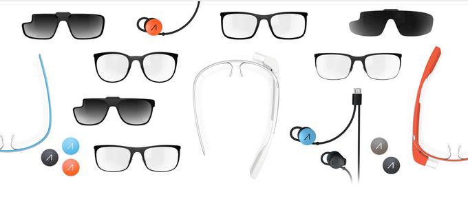 Появились новые оправы для очков Google Glass. Изображение № 1.