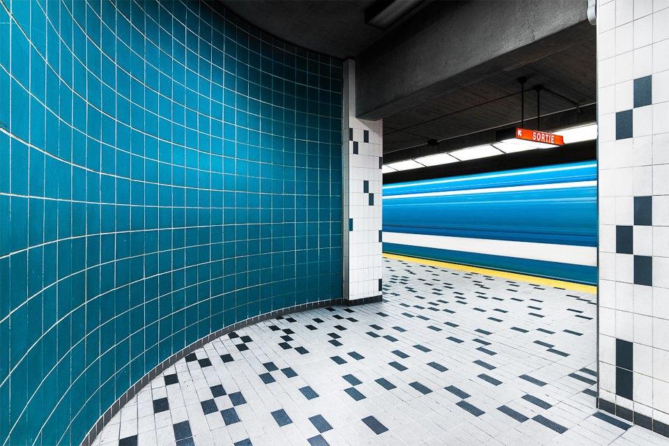Фото: незаметная красота монреальского метро. Изображение № 2.
