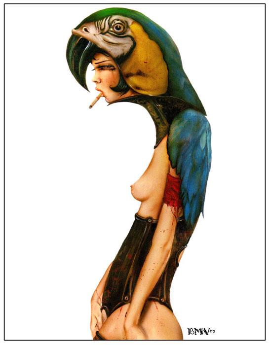 Brian M. Viveros - Американский художник. Изображение № 24.