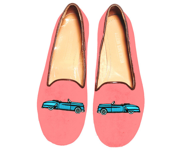 Mario Molinaro - обувь с вышивкой. Изображение № 12.