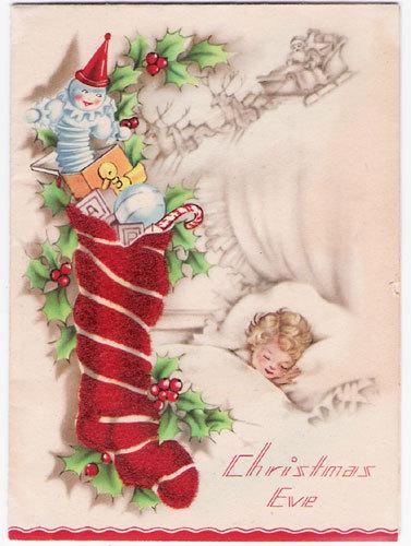 Новогодняя ирождественская открытка. Изображение № 5.