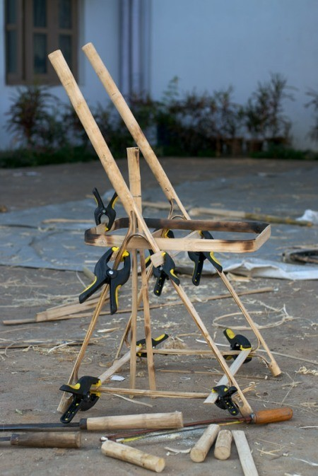 Новое решение в дизайне — бамбуковая мебельная система. Изображение № 4.