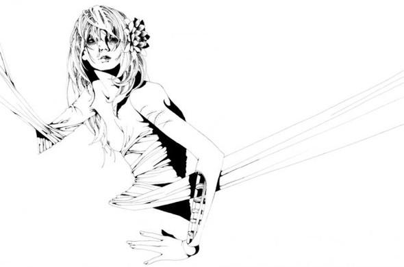 Katsuta Mako – черно-белая грация. Изображение № 28.