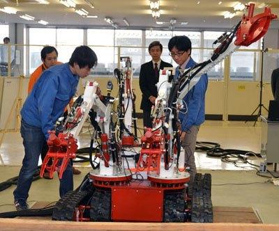 В Японии создали робота-«осьминога» для работ на«Фукусиме-1». Изображение № 4.