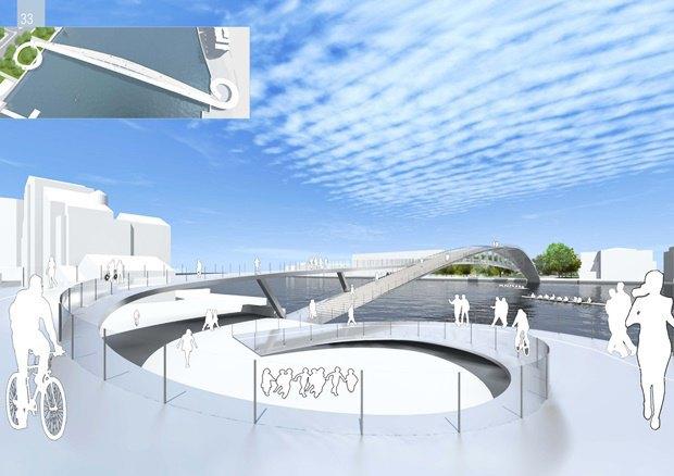 Выложены 74 проекта нового моста через Темзу. Изображение № 41.