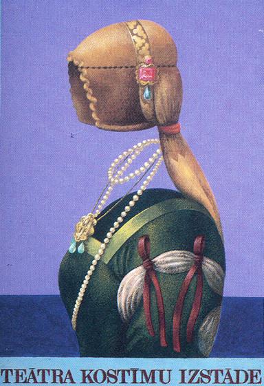 Пластическая экспрессия латышского плаката 70 – 80-егг. Изображение № 20.