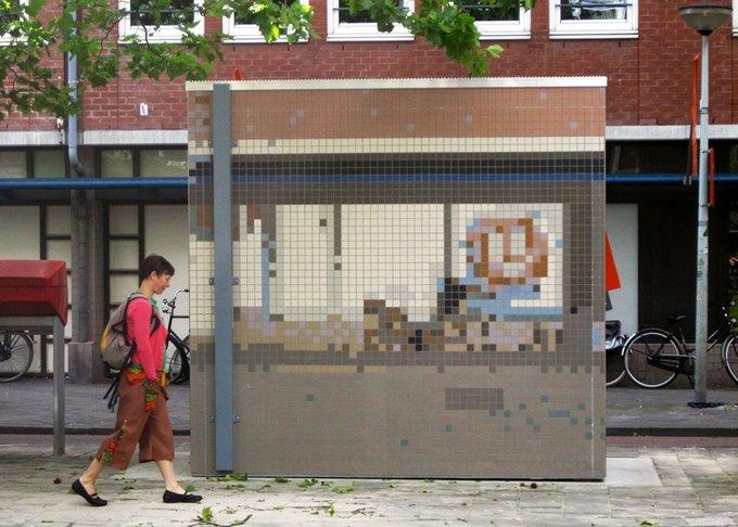 Роланд Оттен демонстрирует «Городской камуфляж». Изображение № 1.