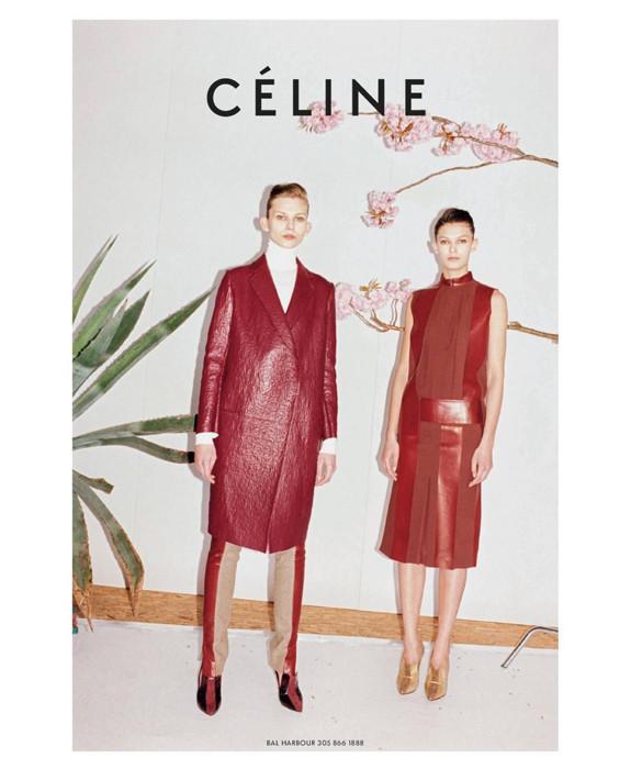 Превью кампании: Celine FW 2011. Изображение № 6.