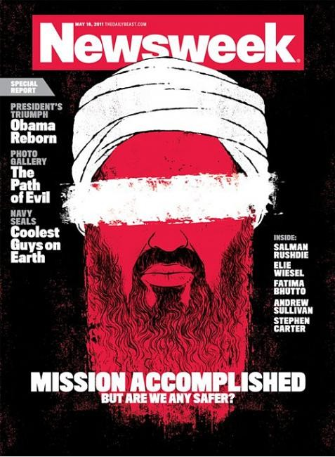 Самые красивые обложки журналов в 2011 году. Изображение № 70.