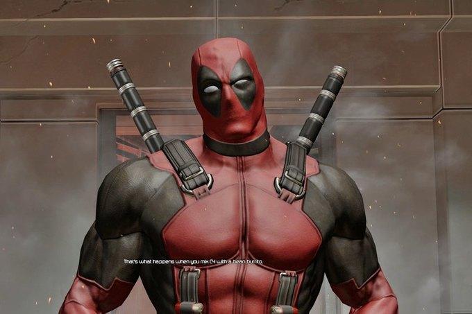 Скриншот из игры Deadpool . Изображение № 1.