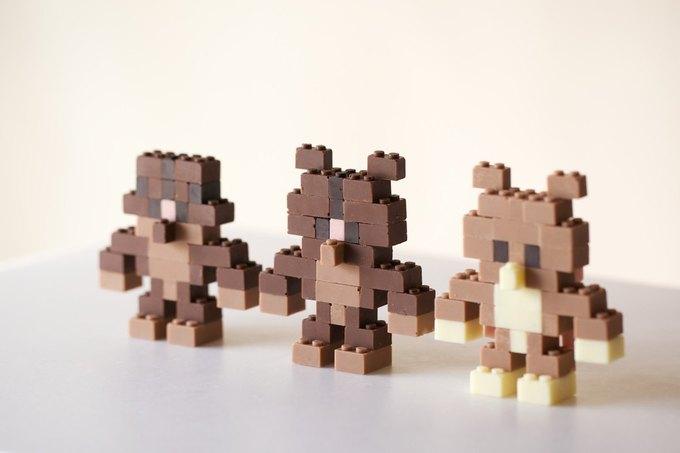 Японский дизайнер сделал LEGO из шоколада . Изображение № 4.