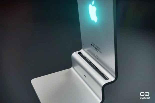 Концепт: современный iMac в стиле Macintosh 128K 1984 года. Изображение № 7.