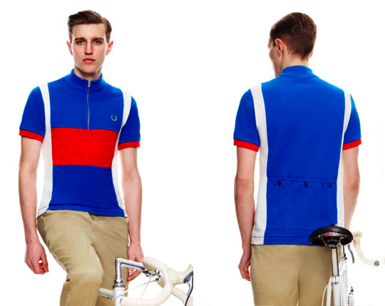 Fred Perry X Cycling Blank Canvas. Изображение № 6.