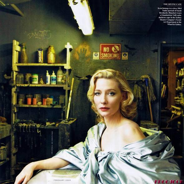 Кейт Бланшетт вжурнале Vanity Fair. Изображение № 4.