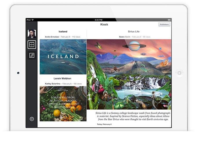 Издательская платформа Stampsy для iPad. Изображение № 2.