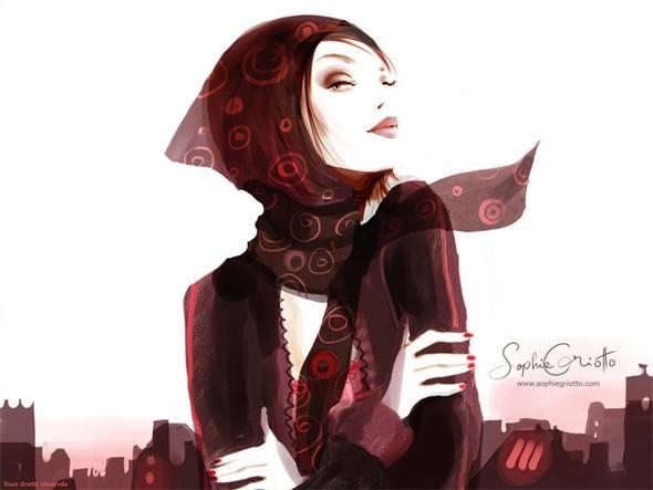 Иллюстрации Sophie Griotto. Изображение № 6.
