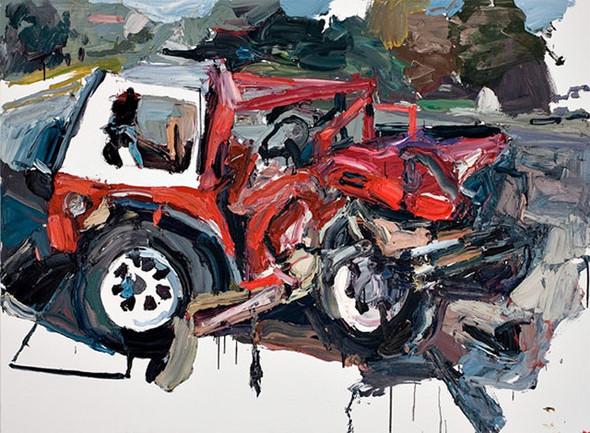 Абстрактные автомобили Бена Куильти. Изображение № 4.