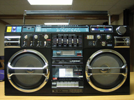 Lasonic Retro Ghetto Blaster. Изображение № 1.