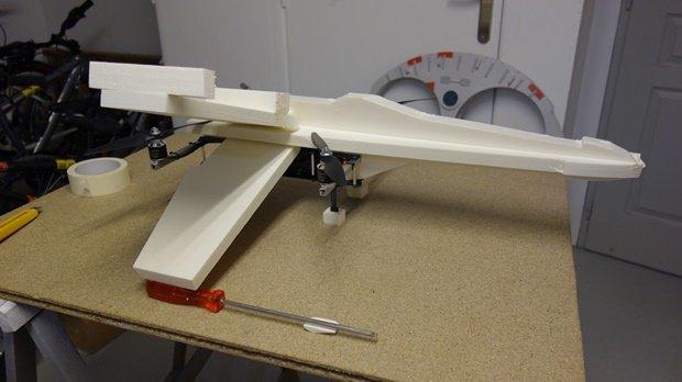 Энтузиаст собрал дрон в виде истребителя X-Wing. Изображение № 3.