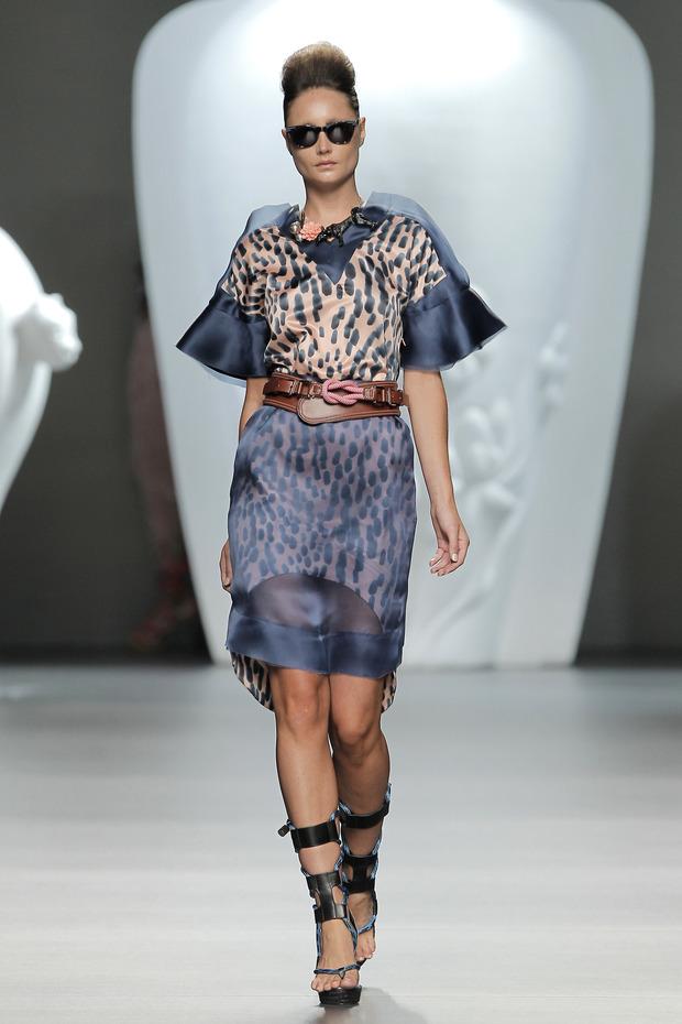 Madrid Fashion Week SS 2013: ANA LOCKING . Изображение № 6.