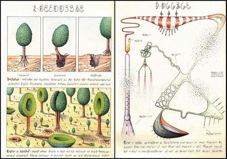 CODEX SERAPHINIANUS самая странная книга. Изображение № 2.