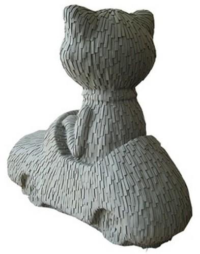 """""""Меховые"""" скульптуры из керамики, резины и бронзы. Изображение № 1."""