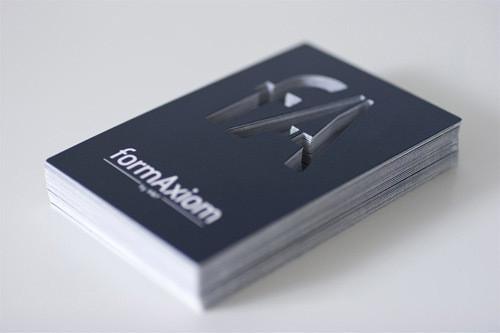 Изображение 54. 69 визиток, которые хочется подержать в руках.. Изображение № 54.