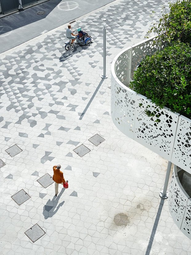 Архитектура дня: парковка сперфорацией вБельгии. Изображение № 7.