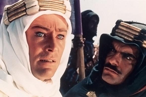 Питер О'Тул в роли Лоуренса Аравийского. Изображение № 3.