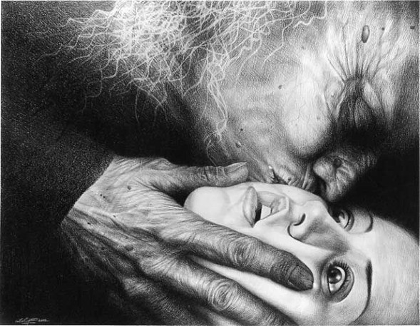 Laurie Lipton «Сюрреализм внутри нас». Изображение № 3.