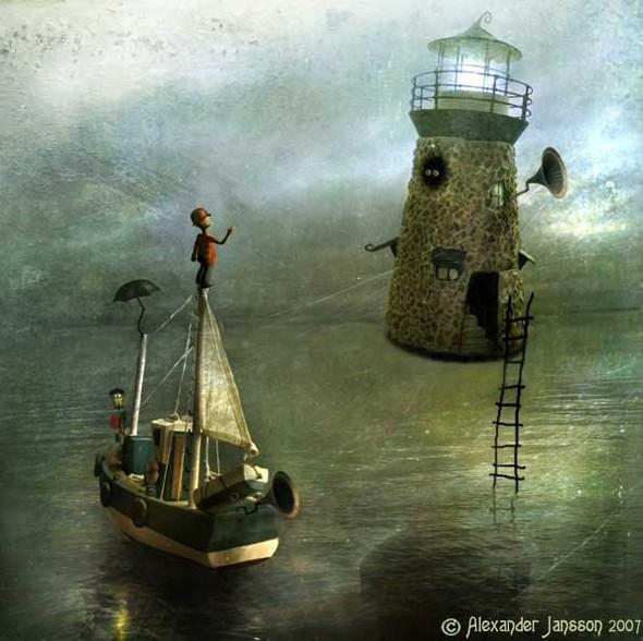 Мистический мир. Alexander Jansson. Изображение № 3.