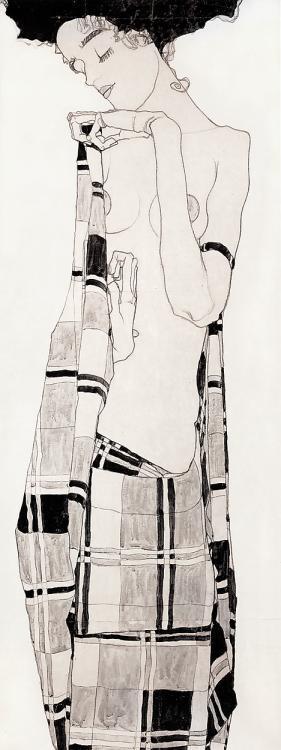 Эгон Шиле. Эротика вискусстве живописи ирисунка. Изображение № 2.