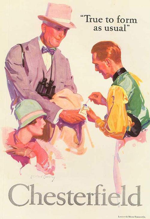 Винтажная реклама табака. Изображение № 8.
