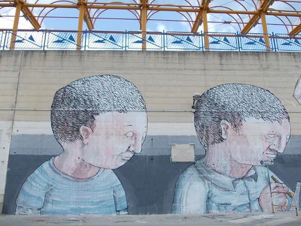 Лучшие стрит-арт проекты 2011 года. Изображение №17.