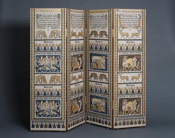 Ручная набойка по ткани: Е.А.Шнайдер и Н.Чурбакова. Изображение № 15.
