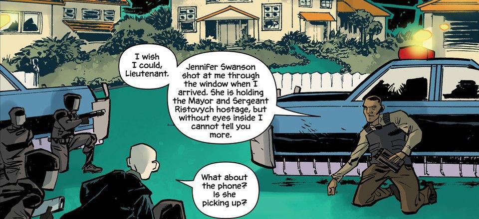 Автор комикса The Fuse об отношении иностранцев к России и женщинах-полицейских. Изображение № 2.