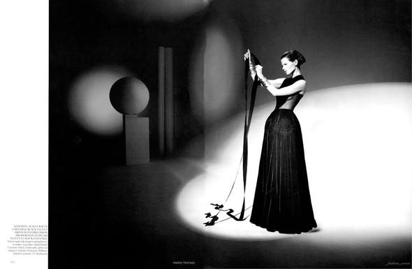 Съемка: Саския де Брау для британского Vogue. Изображение № 6.