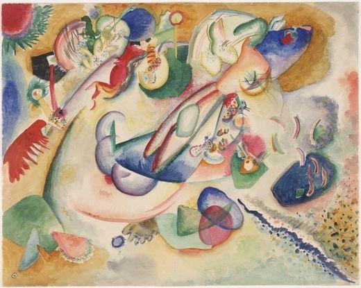 Коллекция работ В.В. Кандинского. Изображение № 53.