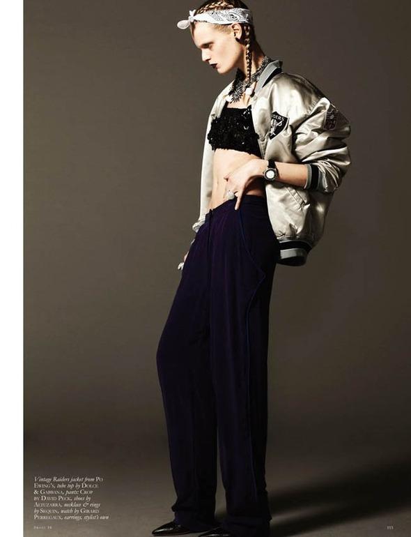 Ханне Габи Одиле в фотосессии Майкла Шварца . Изображение № 7.