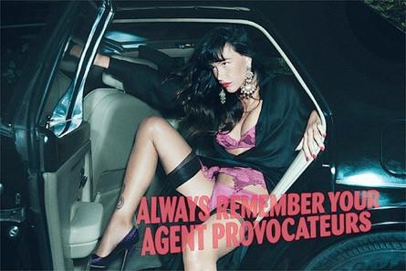 Видео: Пас де ла Уэрта для Agent Provocateur. Изображение № 1.