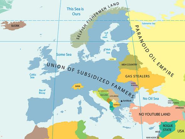 Европа в стереотипах. Изображение № 10.